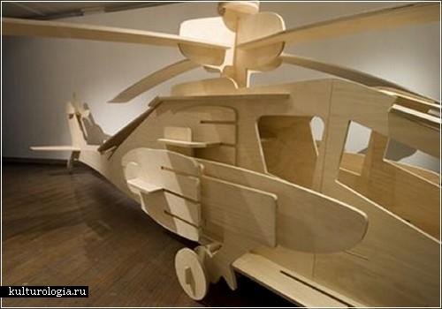Как сделать детский автомобиль из фанеры