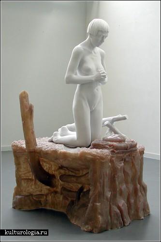 Голые и вооруженные. Скульптуры Тома Пьюкейя (Thom Puckey)