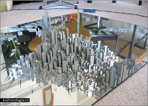 Скульптурные пейзажи Питера Рута (Peter Root)