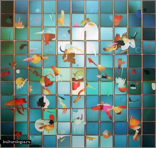 Полароидная мозаика Патрика Уинфилда (Patrick Winfield)