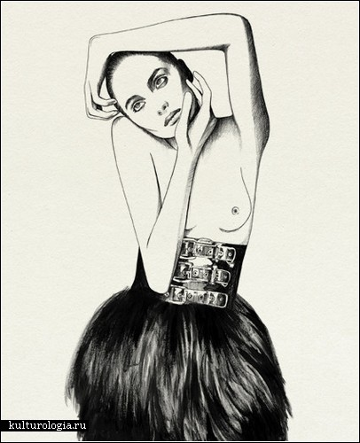 Черно-белые иллюстрации Рикардо Фуманаля (Ricardo Fumanal)