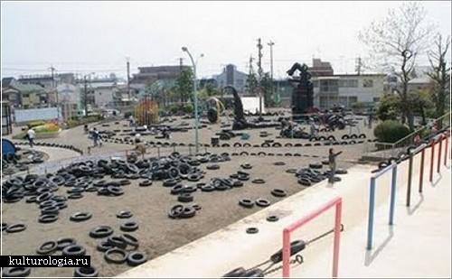 Детская игровая площадка Nishi-Rokugo, Токио