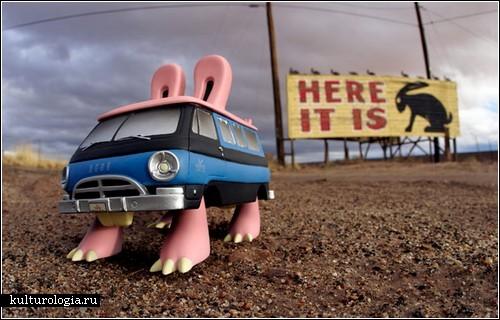Загадочная жизнь игрушек. Фотографии Брайана МакКарти (Brian McCarty)