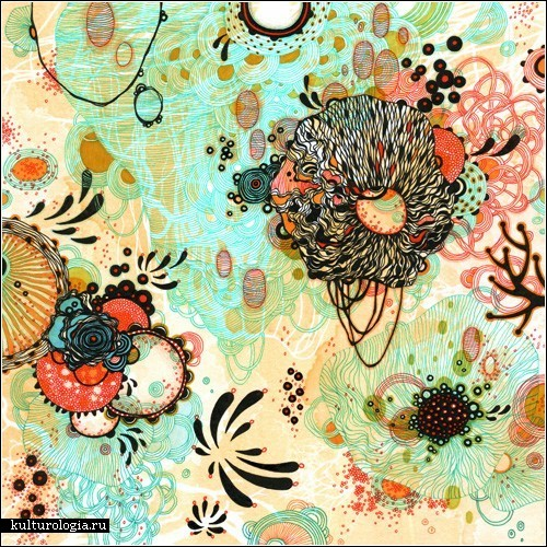 Орнаментальная живопись Елены Джеймс (Yellena James)