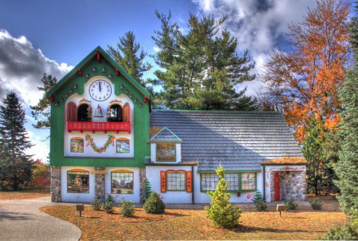 Здание школы Санта-Клауса.   Фото: santaclausschool.com.