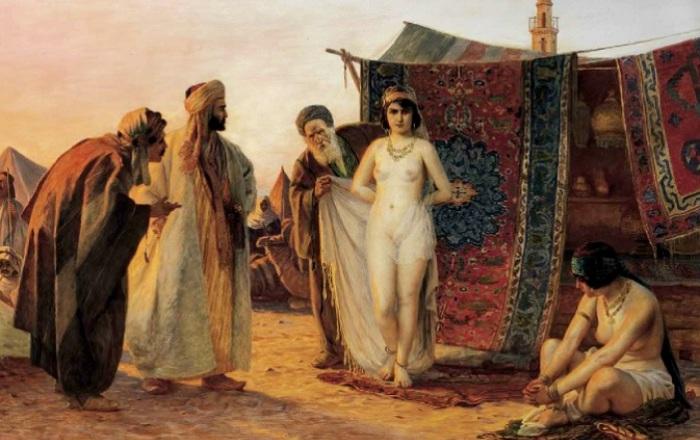Арабы предлагают рабынь на продажу. | Фото: quebecoisdesouche.info.