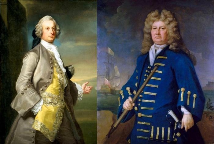 Офицер и адмирал «раннего периода».