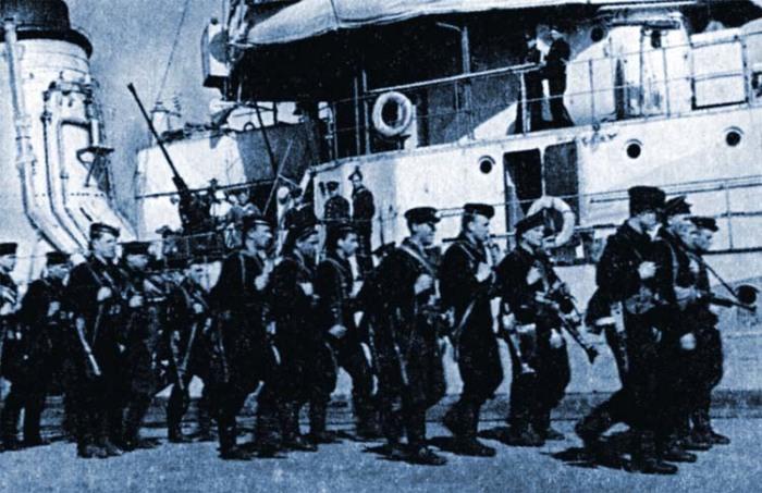 «Черные дьяволы» - грозное прозвище советских морских пехотинцев. | Фото: f7x.ru.