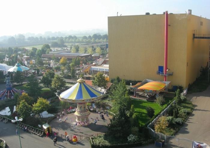 Удачная реконструкция промобъекта в парк развлечений.