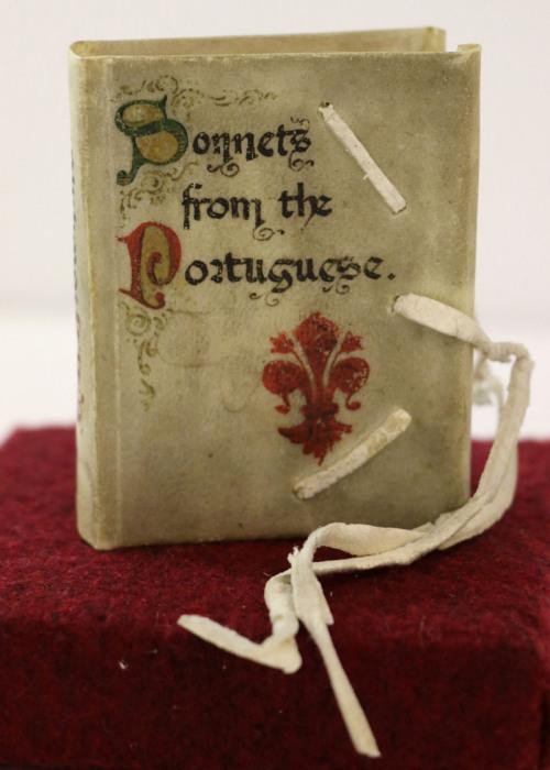 Книга сонетов на португальском языке. Венеция, 1906 год.