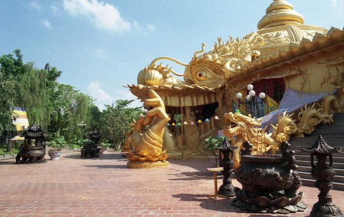 Дракон – символ и покровитель вьетнамского народа.