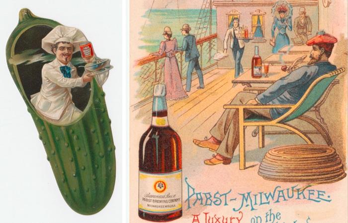 Реклама конца XIX – начала ХХ века.