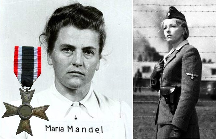 Мария Мандель лично отбирала людей в газовые камеры Освенцима.