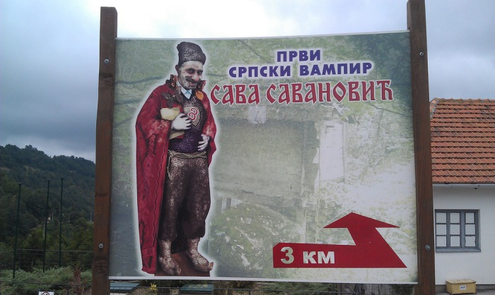 Сава Саванович – первый сербский вампир, опередивший «Дракулу». | Фото: arctickfox.livejournal.com.
