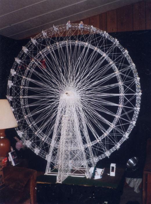 Удивительное колесо обозрения Билла Берка. | Фото: atlasobscura.com.