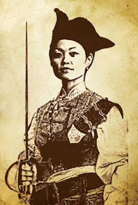 Женщина-пират Чжэн Ши. | Фото: vdvgazeta.ru.