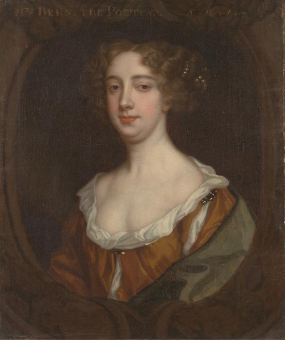 Афра Бен, британский писательница, драматург, поэт и шпион XVII века. | Фото: atlasobscura.com.