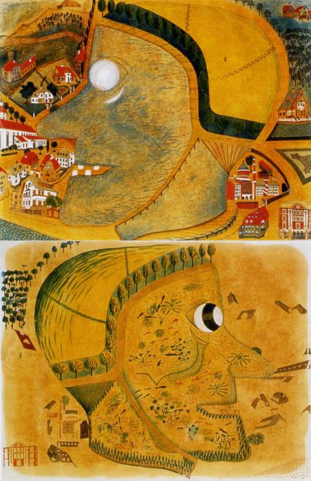 Голова ведьмы. Автор – больной шизофренией Август Наттерер, 1915 год. | Фото: commons.wikimedia.org.