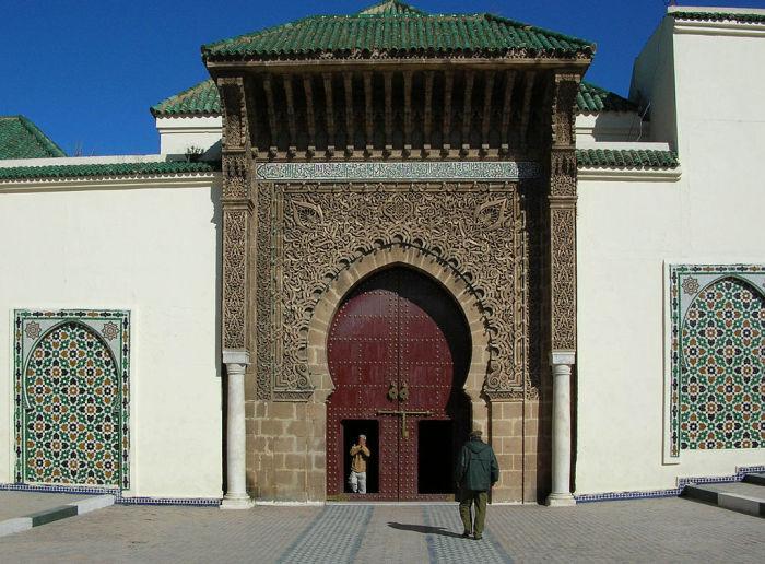 Мавзолей Мулая Исмаила в марокканском городе Мекнес.   Фото: it.wikipedia.org.