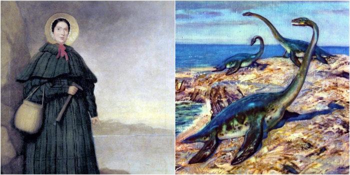 Мэри Эннинг и древние морские ящеры, которых она открыла миру.