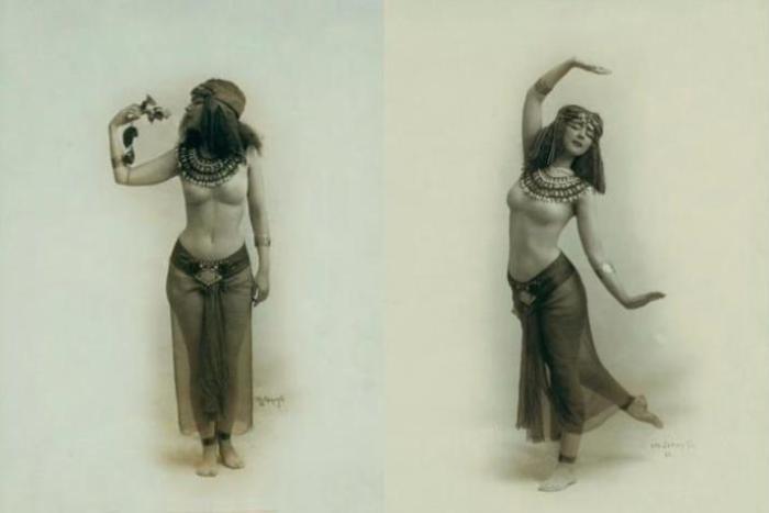 Всего лишь век назад танцы с босыми ногами были в диковинку. Постановка «Egypta».