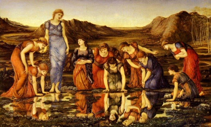 Зеркало Венеры. Эдвард Бёрн-Джонс, 1866-1877 гг. | Фото: gallerix.ru.