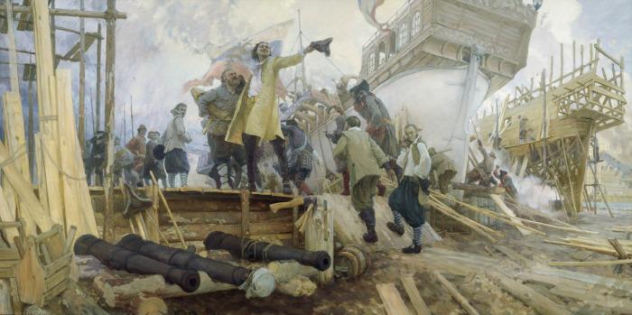Пётр I в Стрелецкой слободе. | Фото: liveinternet.ru.