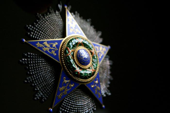 Звезда ордена Исмаила. | Фото: flickr.com.