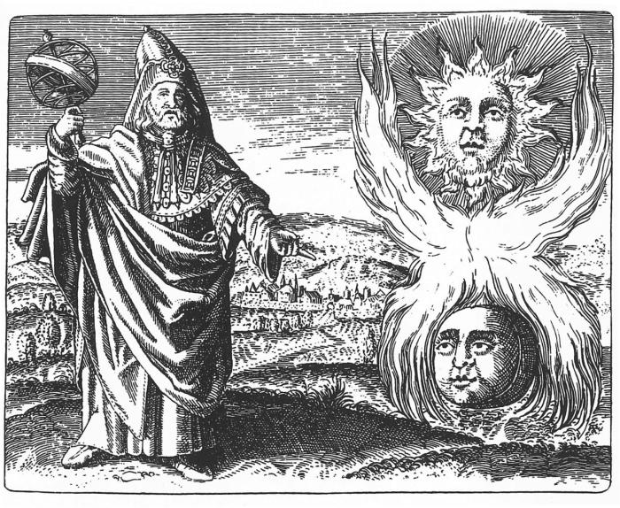 Гермес Трисмегист - языческий бог, которого не отвергла христианская церковь. Гравюра 1624 года. | Фото: cvltnation.com.