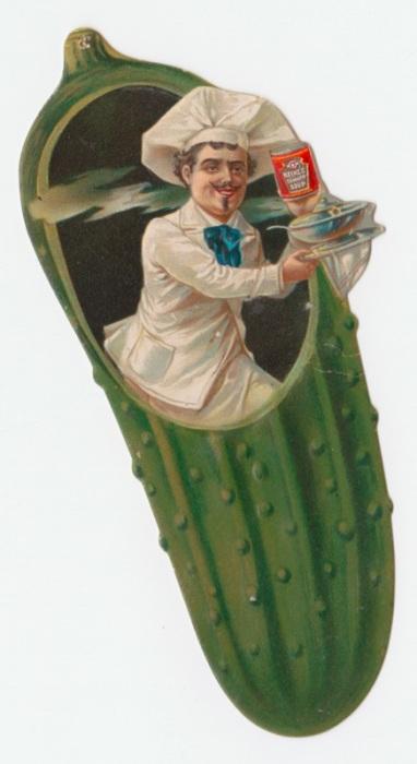 Реклама томатного супа Хайнца. | Фото: rare.library.cornell.edu.