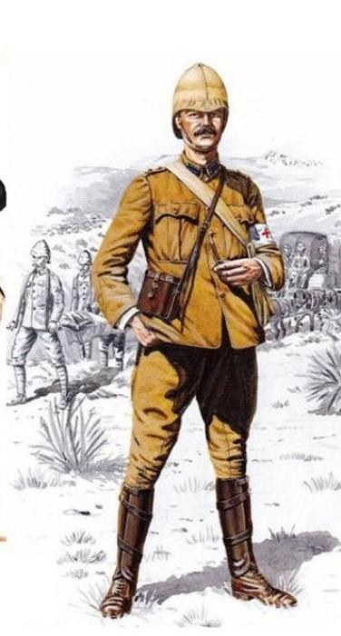 Британский офицер-медик, участник второй англо-афганской войны. | Фото: vikond65.livejournal.com.