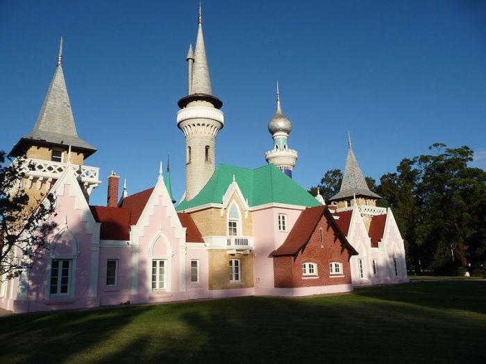 Сказочный замок для маленькой принцессы.