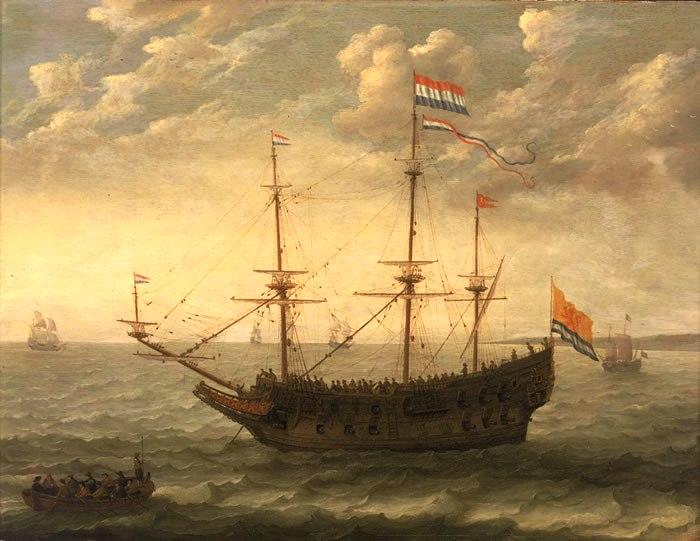 Голландский галеон. | Фото: chinaforeignrelations.net.