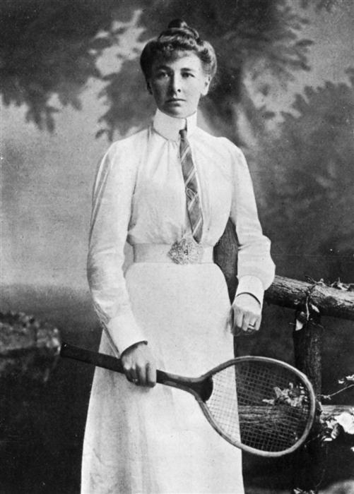 Шарлотта Купер – первая женщина-чемпионка Олипийских игр. | Фото: en.wikipedia.org.
