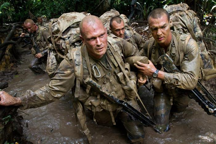 Специальная подготовка в условиях тропиков Французской Гвианы. | Фото: 3rei.legion-etrangere.com.