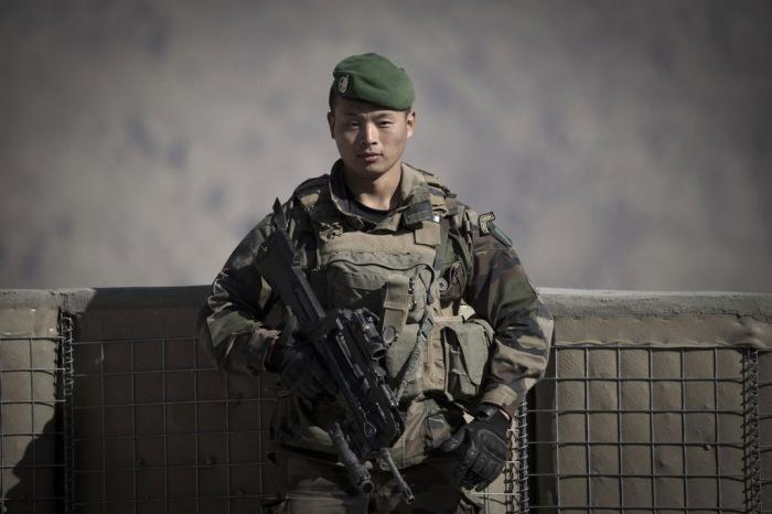 Легионер-китаец из 2-го инженерного иностранного полка. | Фото: pixanews.com.