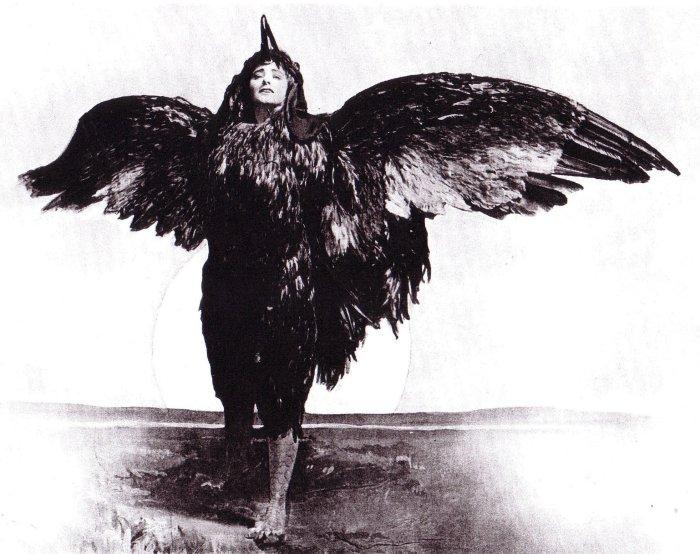 Американская актриса Мод Адамс в костюме Петуха. Фото: bookmice.net.