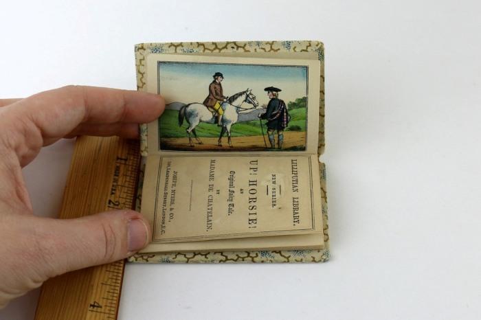 Сказка «Ап! Лошадка!» английской писательницы Клары де Шателейн. Лондон, 1850 год.