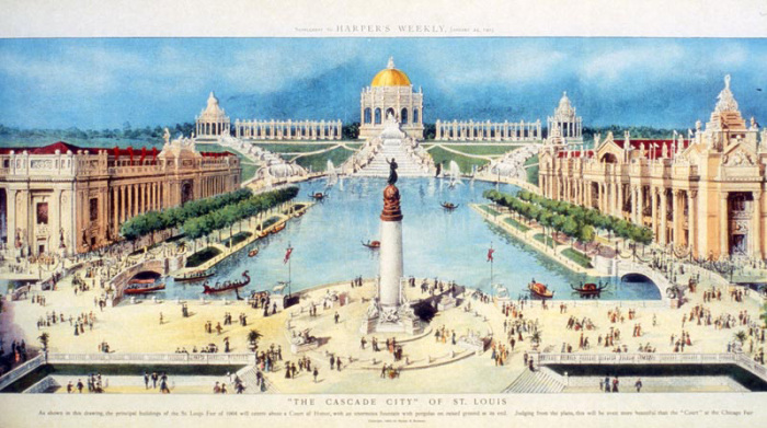 Сент-Луис во время Всемирной выставки, 1904 год. | Фото: worldsfaircommunity.org.