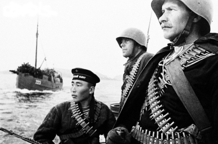 Морские пехотинцы. | Фото: pikabu.ru.