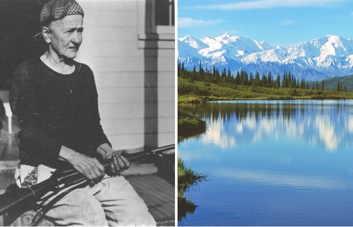 Фанни Квигли, известная на всю Аляску.