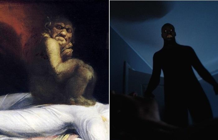 Ночной кошмар в представлении людей разных эпох.