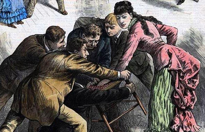 Номер со стулом в исполнении юной Лулу Херст. | Фото: georgiaencyclopedia.org.