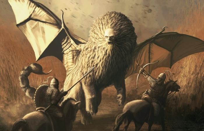 Мантикора - самое страшное и опасное существо в средневековом бестиарии. | Фото: clubbrain.ru.