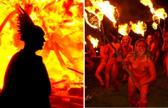 Лучшие в мире фестивали огня.