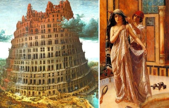 Легендарный город и необычный религиозный обряд для вавилонянок.