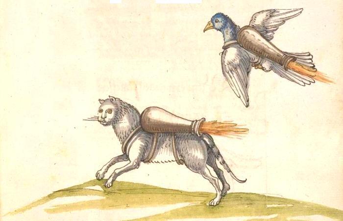 Иллюстрация из книги Buch von den probierten Kuensten. Бавария, 1535 г. | Фото: digi.ub.uni-heidelberg.de.