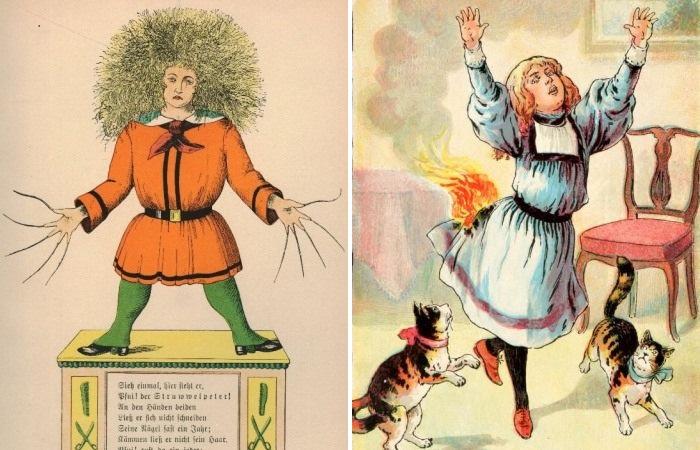 Страшные истории для детей середины XIX века.