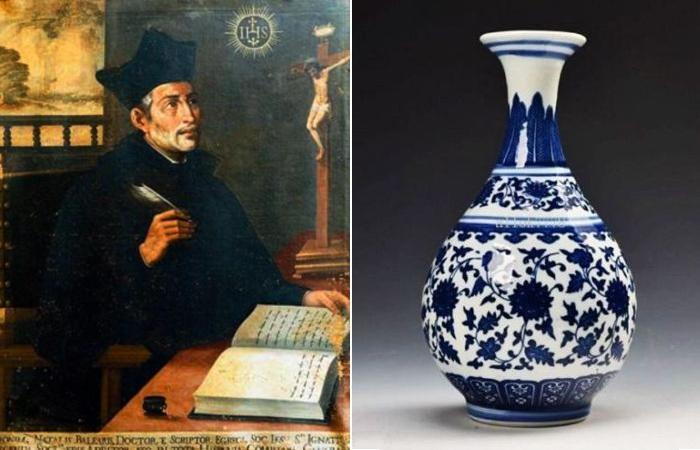 Священник-иезуит и китайская ваза.