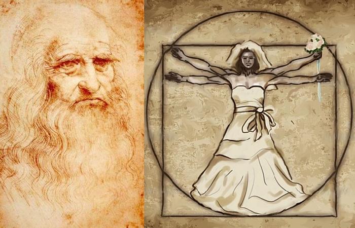Леонардо да Винчи – итальянский художник, изобретатель и устроитель свадеб. | Фото: ru.wikipedia.org и atlasobscura.com.